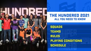 The Hundred 2021 Squads, Teams,  Rules, Playing Conditions, & All You Need to Know