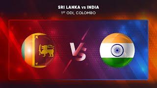 LIVE : INDIA vs SRI LANKA 1st ODI | DIGITAL AUDIO COMMENTARY I 2021