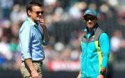 Adam Gilchrist and Justin Langer