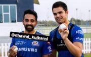 Arjun Tendulkar and Dhawal Kulkarni