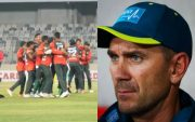 Bangladesh Cricket Team and Justin Langer