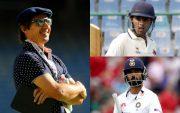 Brad Hogg, Suryakumar Yadav, and Ajinkya Rahane