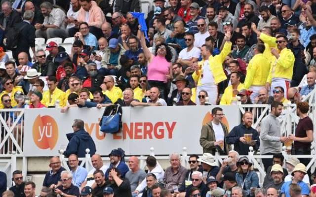 England Cricket Team Fans