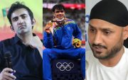 Gautam Gambhir, Neeraj Chopra, and Harbhajan Singh