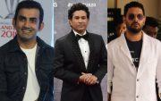 Gautam Gambhir, Sachin Tendulkar, and Yuvraj Singh