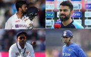 KL Rahul, Virat Kohli, Rishabh Pant, Stuart Binny