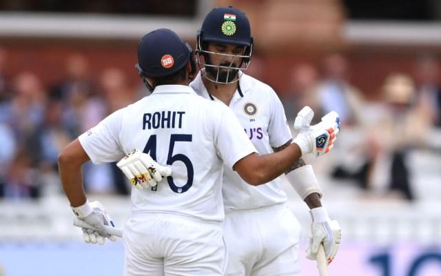 KL Rahul and Rohit Sharma