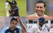Krunal Pandya, VVS Laxman, Ravichandran Ashwin, Virat Kohli