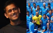 MS Dhoni and Indian Men's Hockey Team