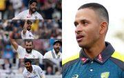 Mohammed Siraj, Ishant Sharma, Mohammed Shami, Jasprit Bumrah and Usman Khawaja