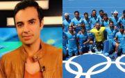 Salman Butt and Indian Hockey Team