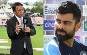 Sunil Gavaskar and Virat Kohli