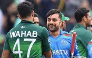 Wahab Riaz and Rashid Khan