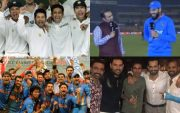 Yuvraj Singh and other Indian Cricket Team players