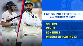 ENG vs IND 1st Test Preview | ENG v IND Playing XI | ENG vs IND Match Details | All You Need To Know