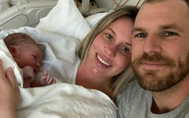 Aaron Finch and Family