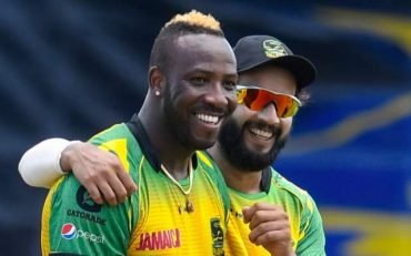 Andre Russell and Imad Wasim