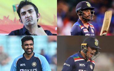 Gautam Gambhir, Sanju Samson, Ravichandran Ashwin, Ishan Kishan