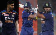Jasprit Bumrah, KL Rahul and Rishabh Pant