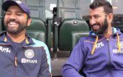 Rohit Sharma and Cheteshwar Pujara