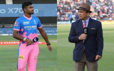 Sanju Samson and Sunil Gavaskar