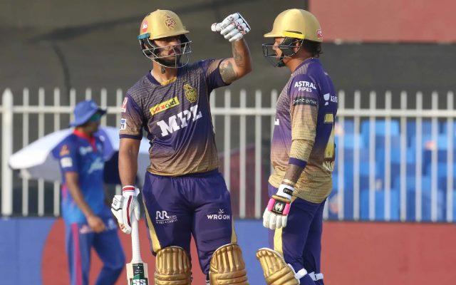 Sunil Narine and Nitish Rana