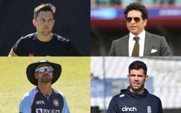 Trent Boult, Sachin Tendulkar, Shikhar Dhawan, James Anderson