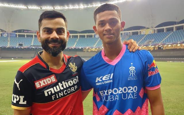 Virat Kohli and Yashasvi Jaiswal