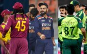 West Indies, India and Pakistan