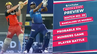 IPL 2021: Match 39, RCB vs MI Predicted Playing 11, Match Preview & Head to Head Record - Sep 26th