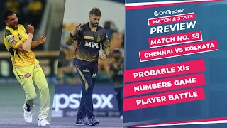 IPL 2021: Match 38, CSK vs KKR Predicted Playing 11, Match Preview & Head to Head Record - Sep 26th