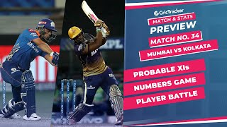 IPL 2021: Match 34, MI vs KKR Predicted Playing 11, Match Preview & Head to Head Record - Sep 23rd