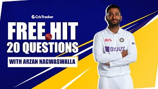 One Cricketer He Would Never Mess With? | His Celebrity Crush? | Free Hit with Arzan Nagwaswalla