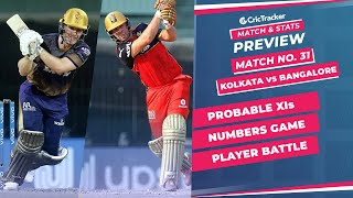IPL 2021: Match 31, KKR vs RCB Predicted Playing 11, Match Preview & Head to Head Record - Sep 20th