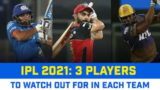 IPL 2021 UAE Leg: Team-wise 3 Players To Watch Out For In The Tournament