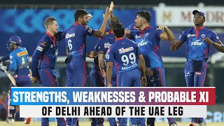 IPL 2021 UAE Leg: Strongest Playing XI Of Delhi Capitals | DC Strengths & Weaknesses Analysis