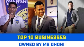 MS Dhoni Net Worth | MS Dhoni Salary in 2021 | MS Dhoni's List of business