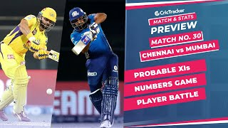IPL 2021: Match 30, CSK vs MI Predicted Playing 11, Match Preview & Head to Head Record - Sep 19th