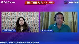 Indian T20 League M34: Mumbai vs Kolkata Post Match Analysis With Manvinder Bisla & Nivedhana Prabhu