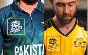 Pakistan and Australia T20 WC jerseys