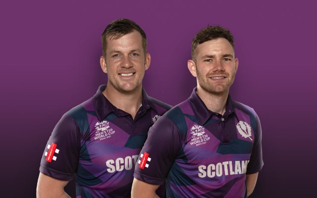 Scotland Cricket Team jersey for T20 World Cup 2021