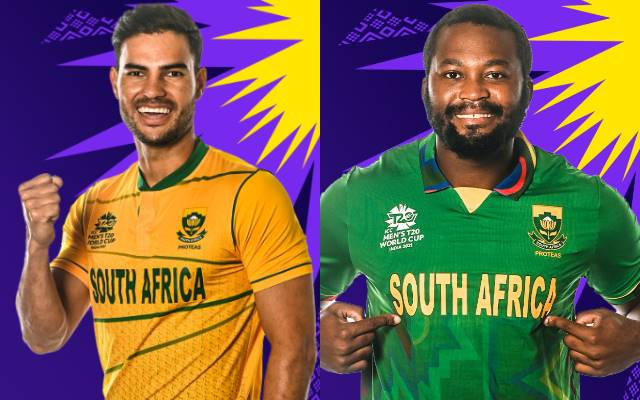 South Africa jersey for T20 World Cup 2021