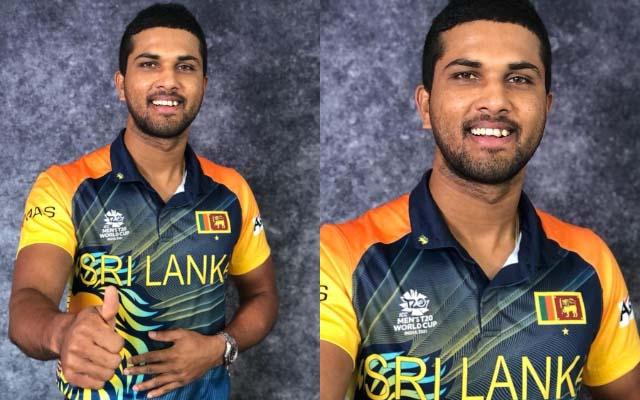 Sri Lanka's new T20 WC jersey