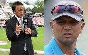 Sunil Gavaskar and Rahul Dravid