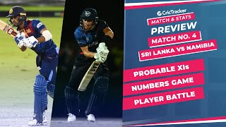 T20 World Cup 2021 - Match 4, Sri Lanka vs Namibia, Predicted Playing XIs & Stats Preview