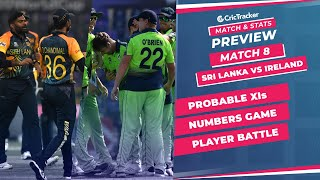 T20 World Cup 2021 - Match 8, Sri Lanka vs Ireland, Predicted Playing XIs & Stats Preview