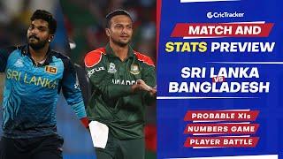 T20 World Cup 2021 - Match 15, Sri Lanka vs Bangladesh, Predicted Playing XIs & Stats Preview