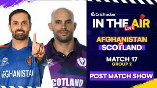 T20 World Cup Match 17 Cricket Live - #AFGvSCO Post Match Analysis #T20WC