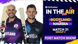 T20 World Cup Match 21 Cricket Live - Scotland vs Namibia Post Match Analysis