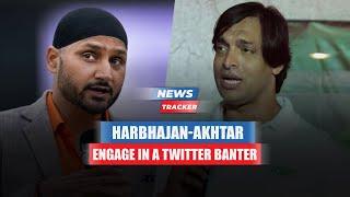 Harbhajan Singh And Shoaib Akhtar Get Into Friendly Twitter Banter Ahead Of India-Pakistan Match
